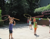 Hula Hoop Birthday Party