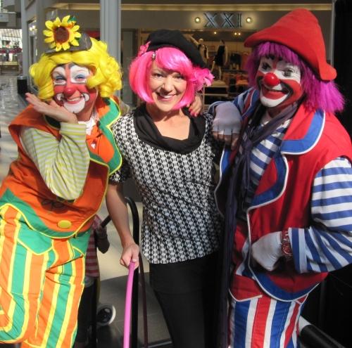 Cara Zara Hula Hoop Entertainer and Circus Daze at Carolina Place Mall.