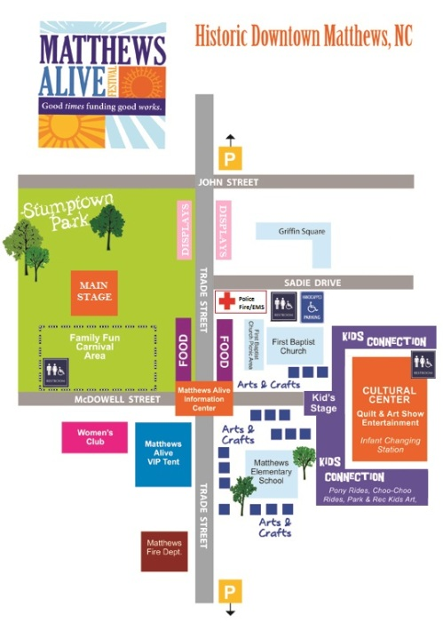 MAP for Matthews Alive 2011