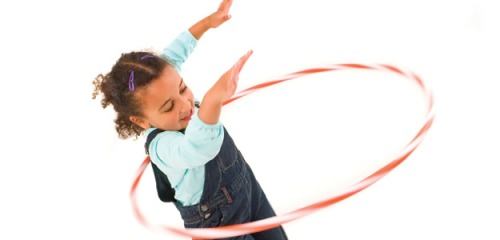 Hula Hooping Kid