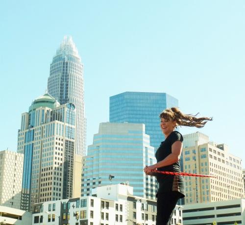 Cara Zara Festival Hooping Charlotte Skyline