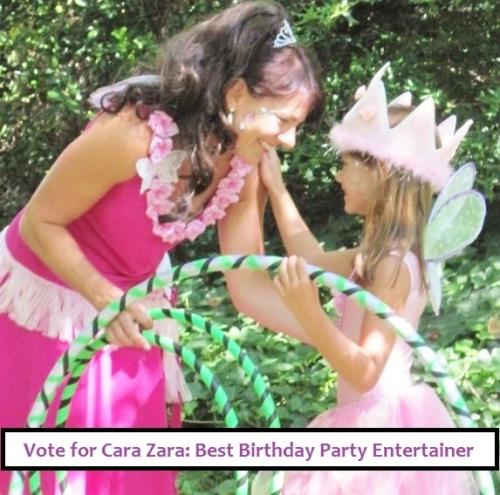 Vote for Cara Zara: Best Birthday Party Entertainer