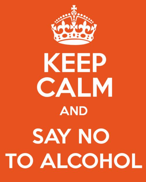 how to say no to alcohol peer pressure