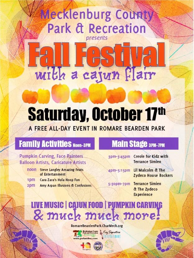 Fall Festival Cajun Flair